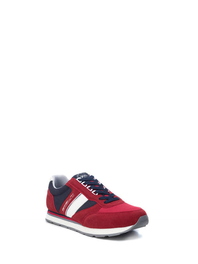 XTI Red Lace-up Trainers