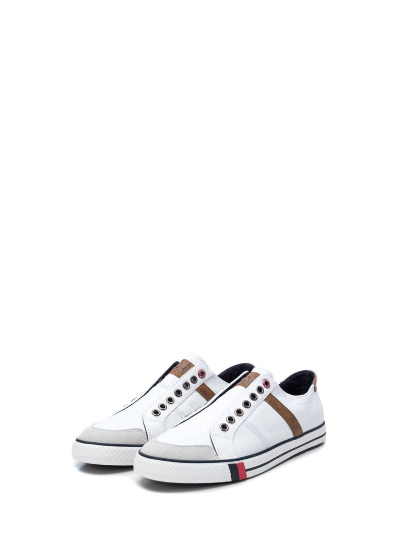 XTI White Elasticated Shoes