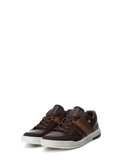 XTI Maroon Lace-up Trainers