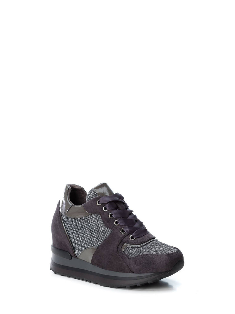 Gray Wedge Trainers