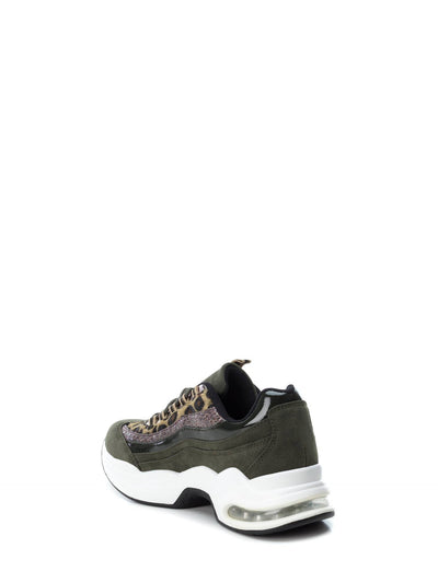 XTI SandyBrown Lace-up Trainers