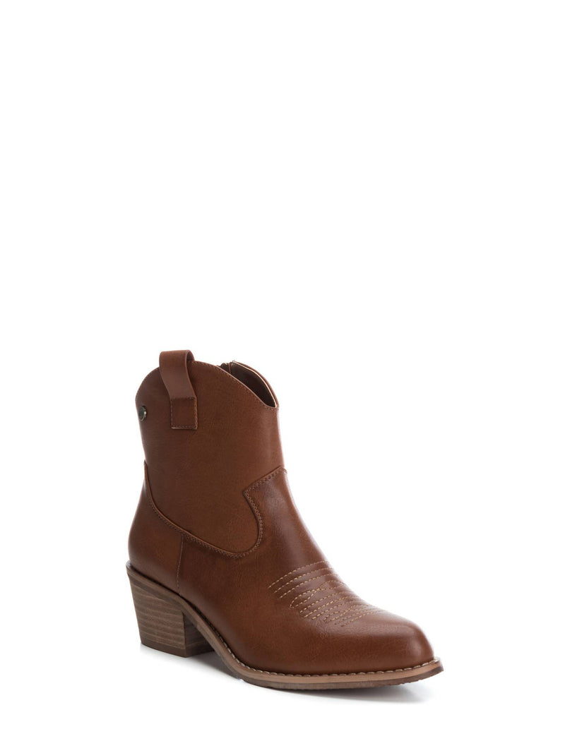 Wheat Cowboy Ankle Boots
