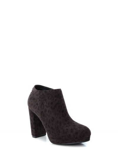 XTI Multicolor Zip Up Ankle Boots