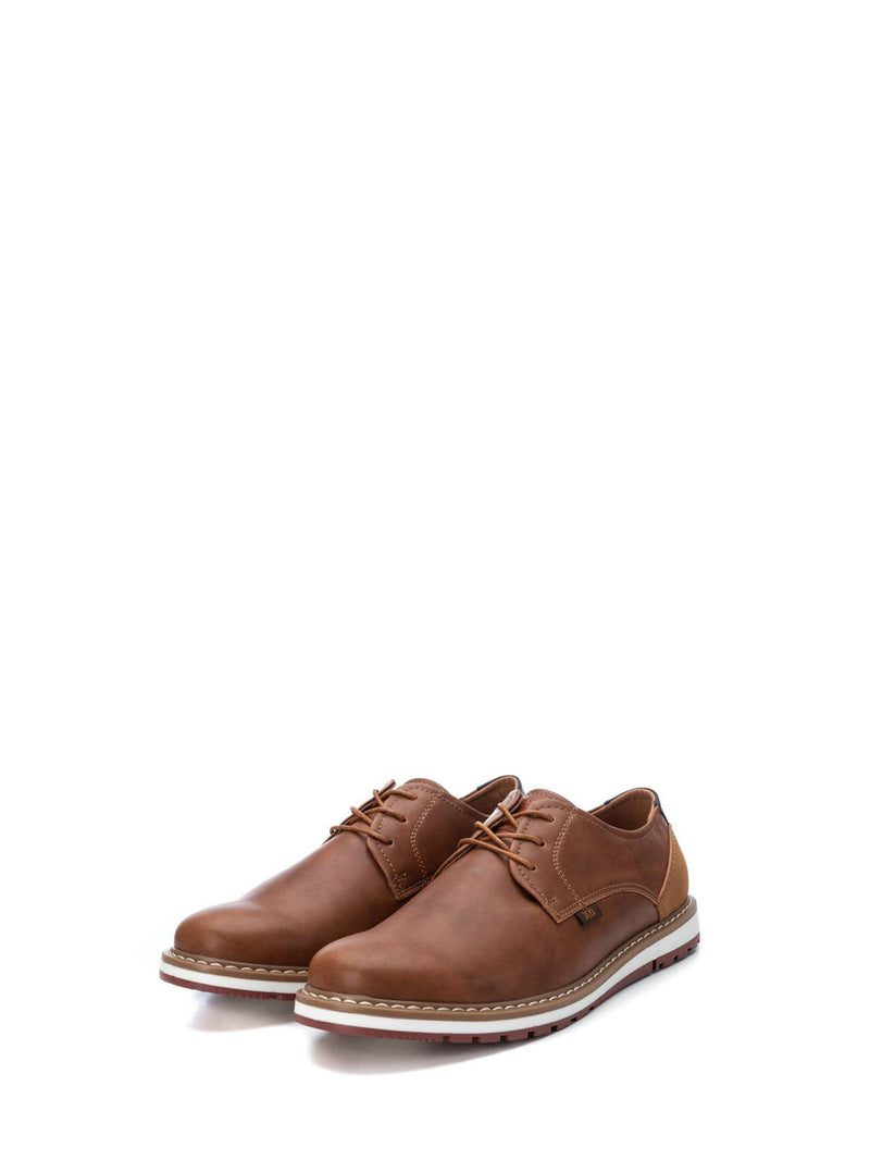 XTI Brown Derby Shoes