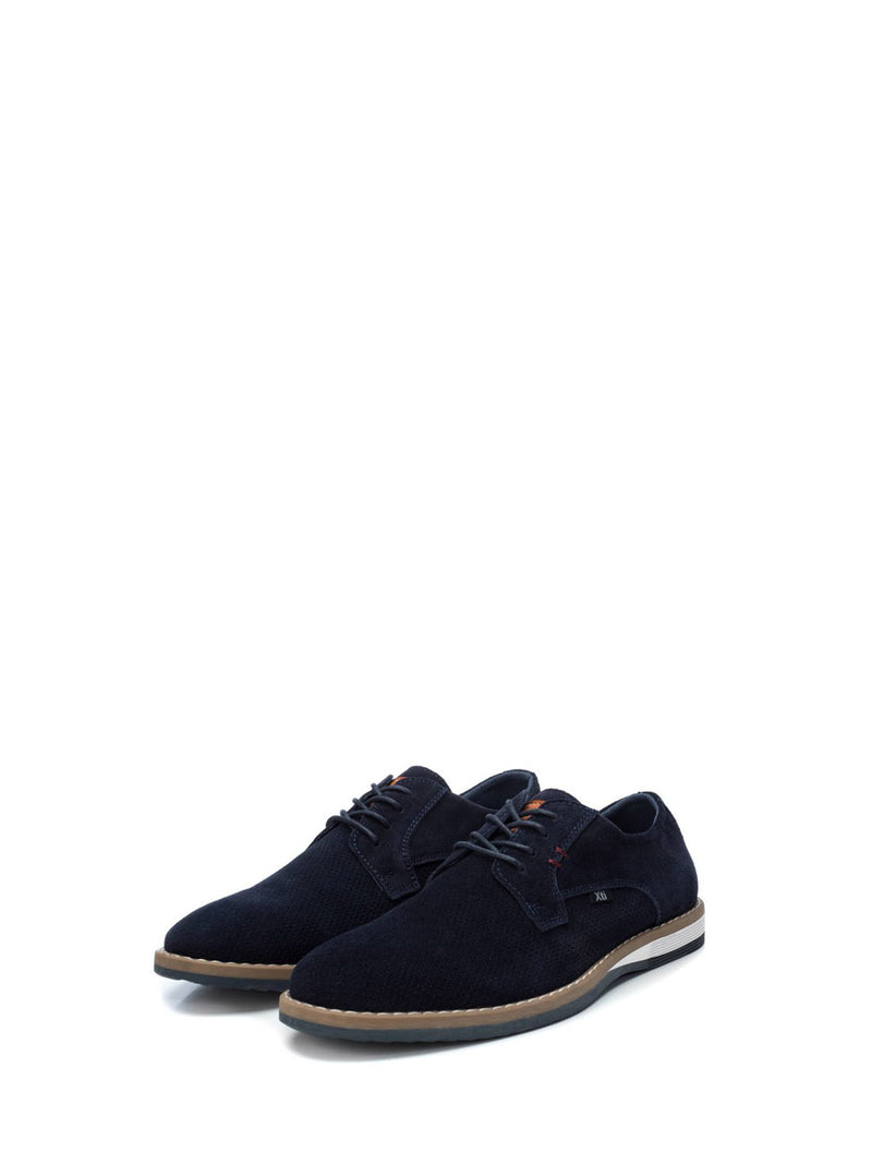XTI Blue Derby Shoes