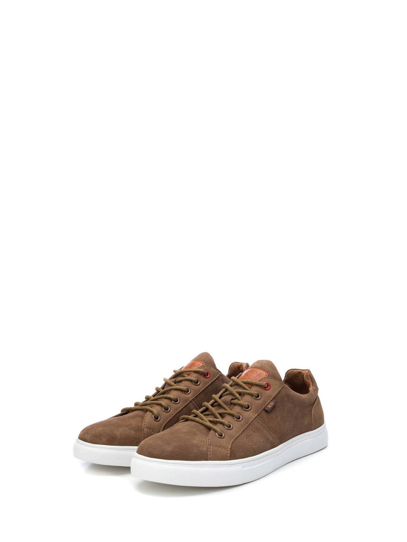 XTI Brown Lace-up Shoes