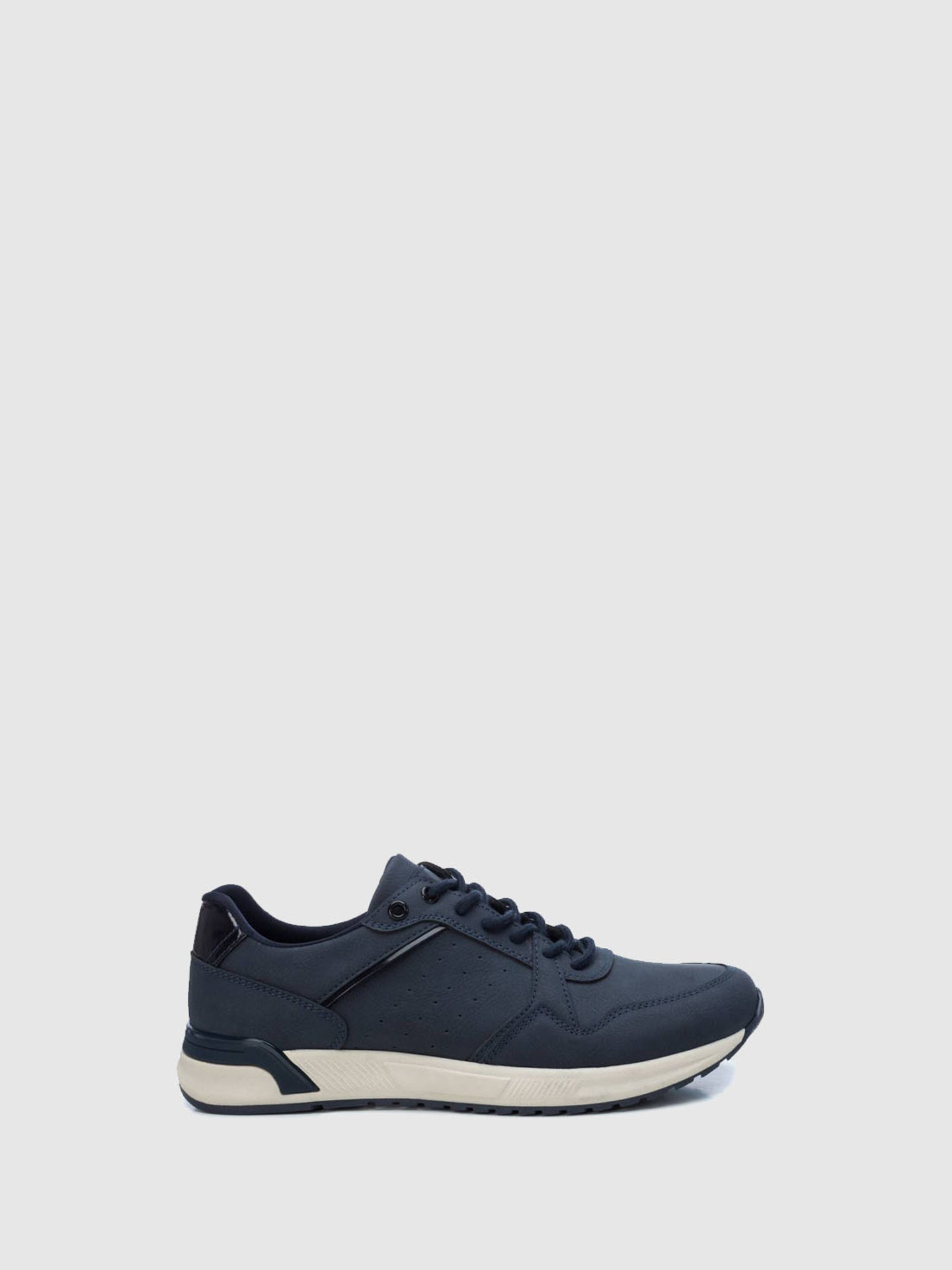 XTI Blue Lace-up Trainers