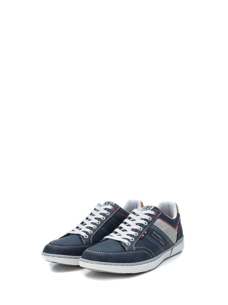 XTI Blue Lace-up Shoes