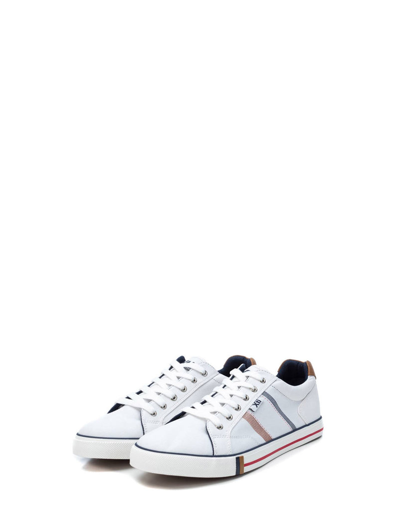 XTI White Lace-up Shoes