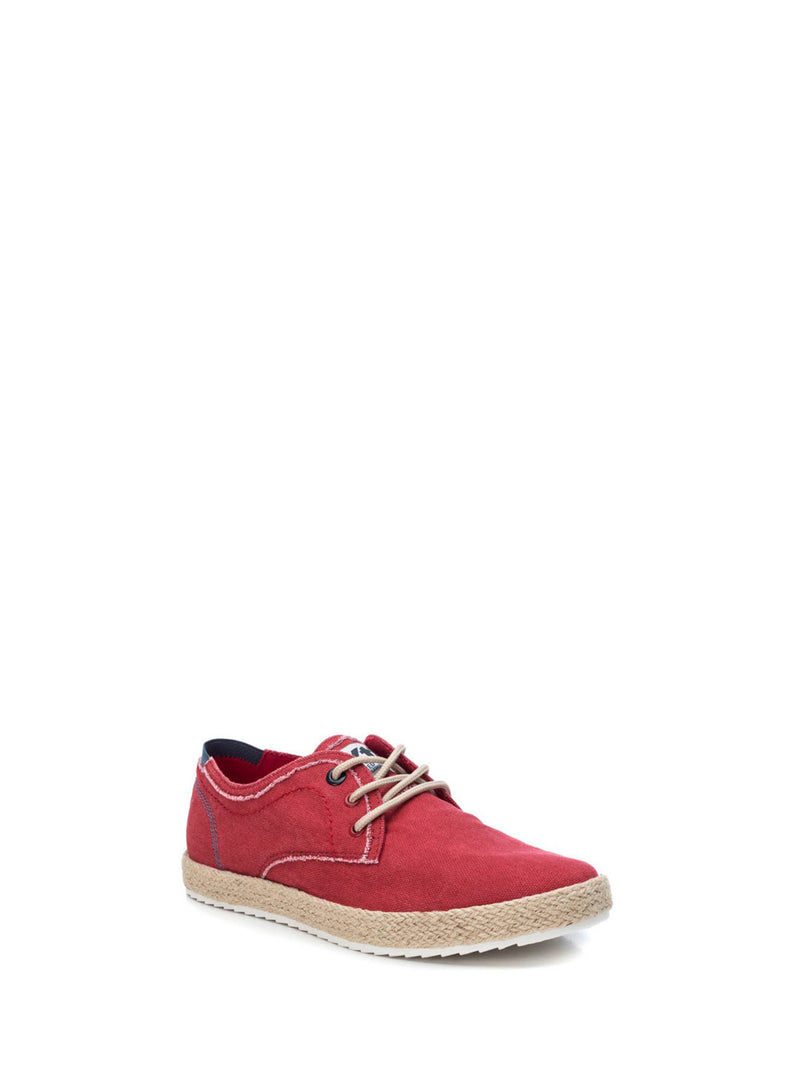 XTI Red Lace-up Shoes