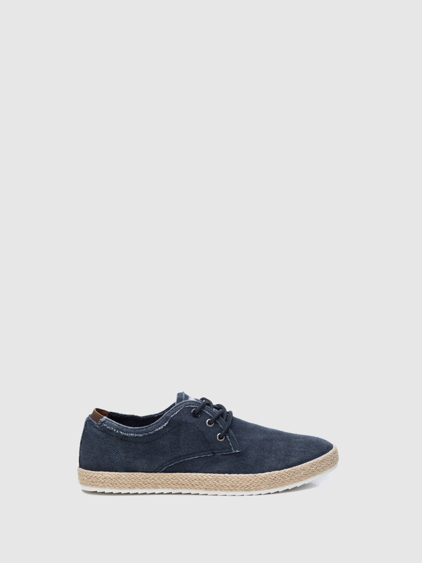 XTI Navy Lace-up Shoes
