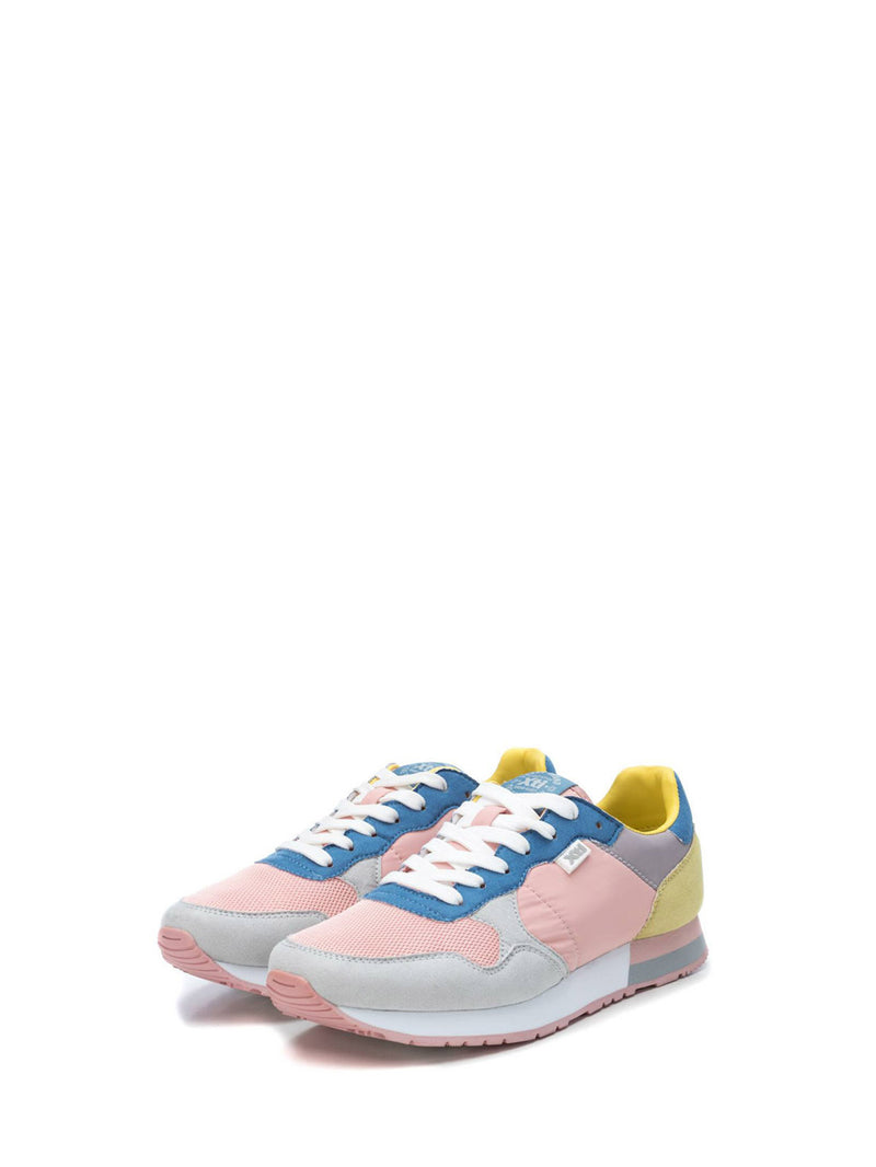 XTI Pink Lace-up Trainers