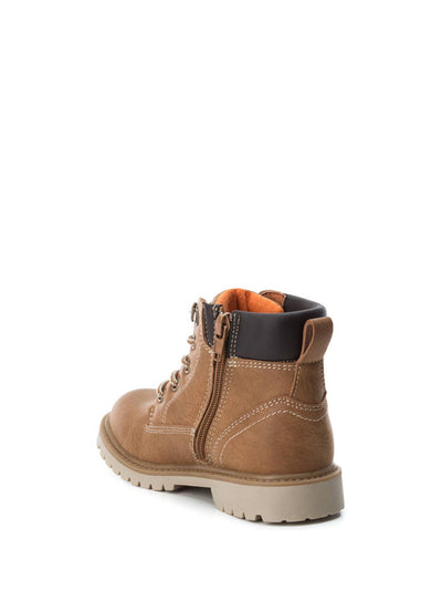 XTI Kids Wheat Zip Up Ankle Boots
