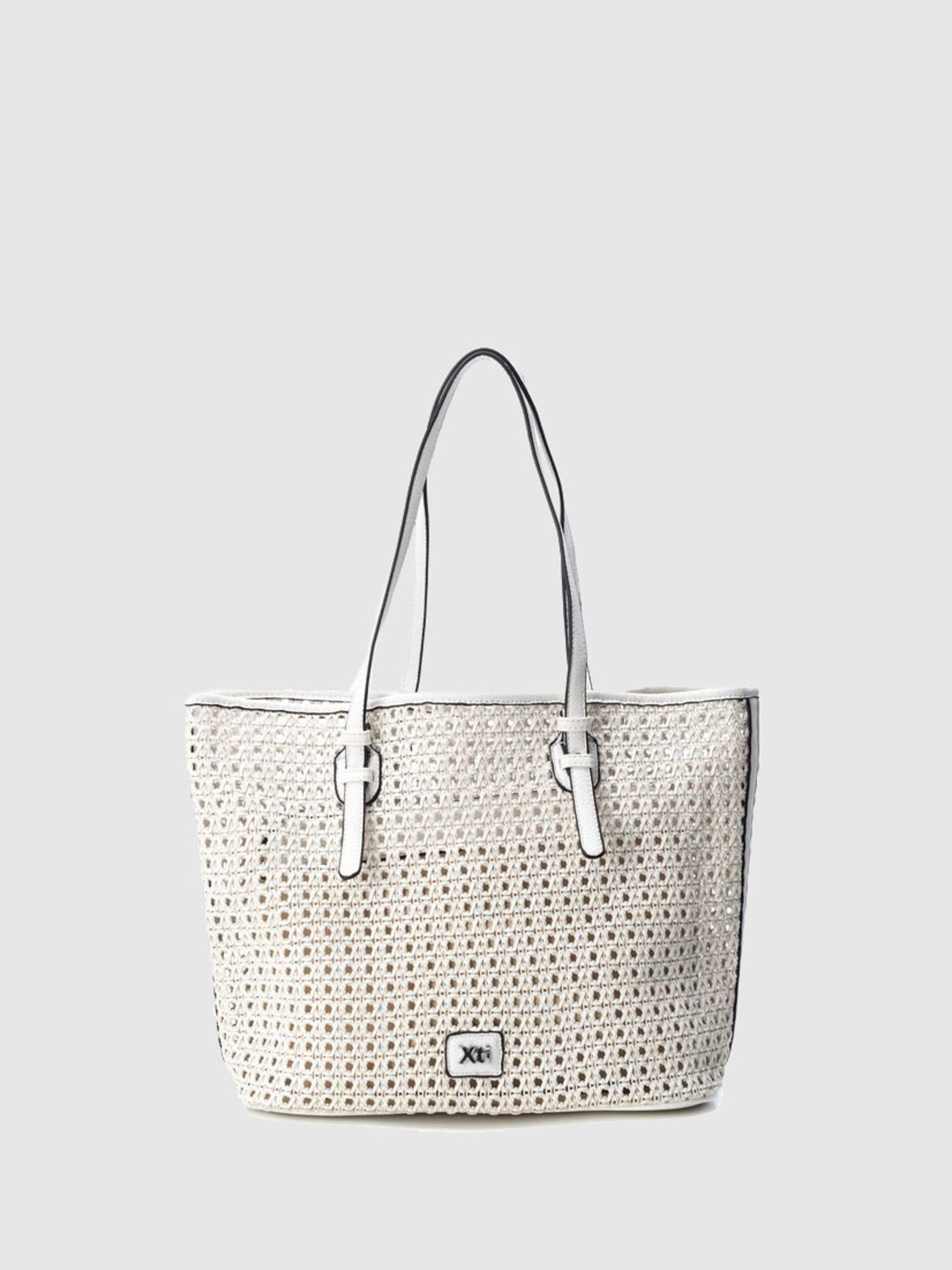 XTI White Tote Bag