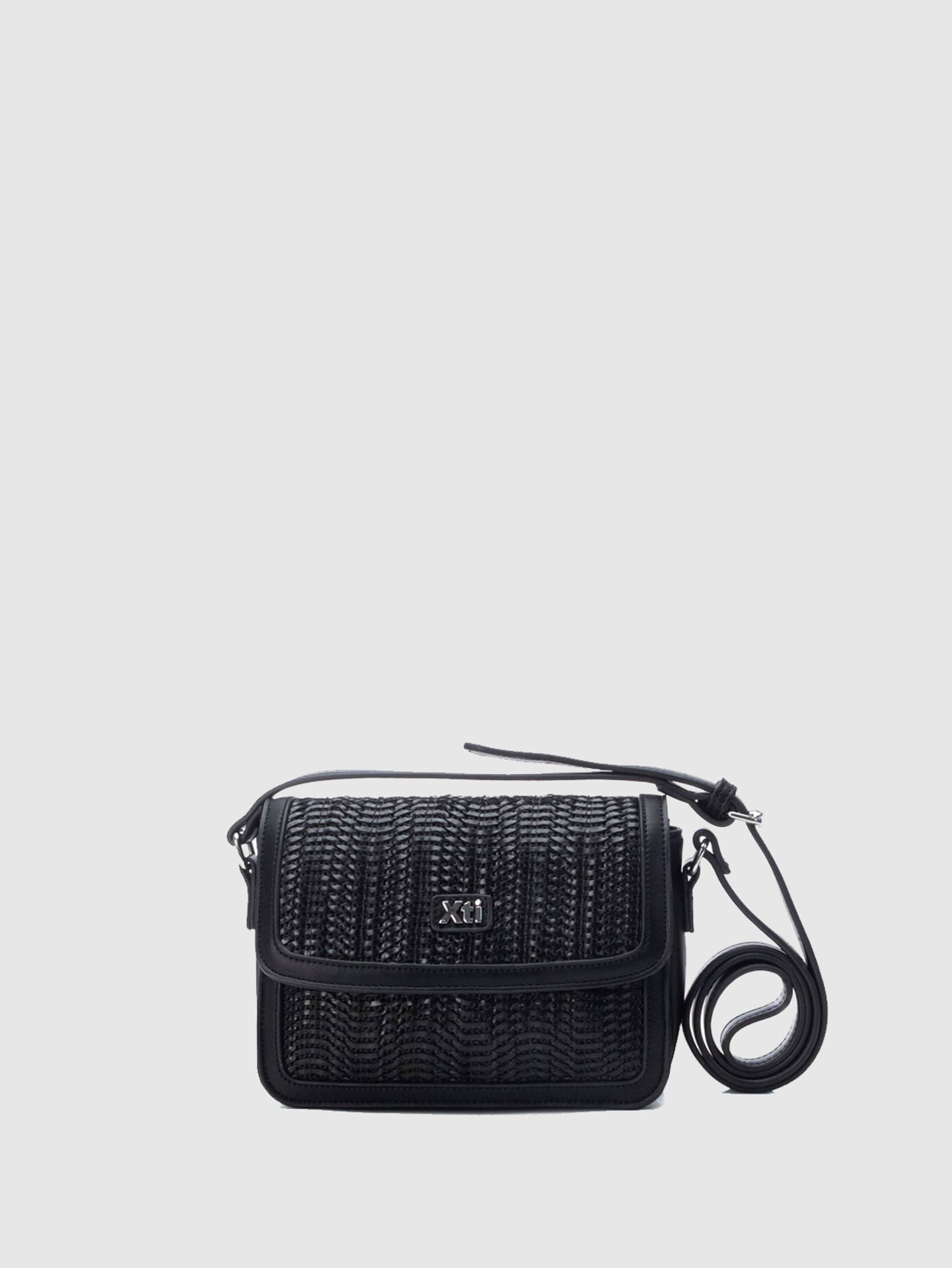XTI Black Crossbody Bag