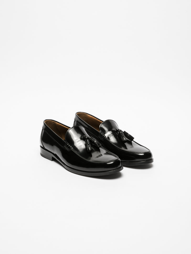 Yucca Black Loafers Shoes