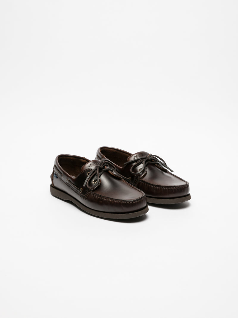 Brown Nautical Shoes