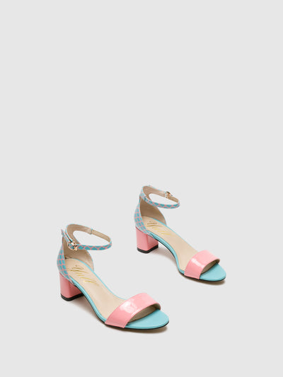 Yull Multicolor Buckle Sandals