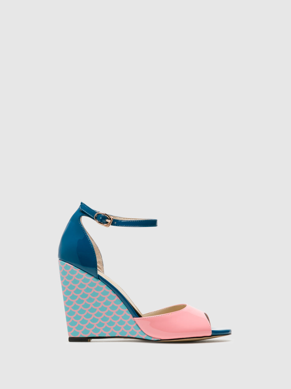 Yull Multicolor Wedge Sandals