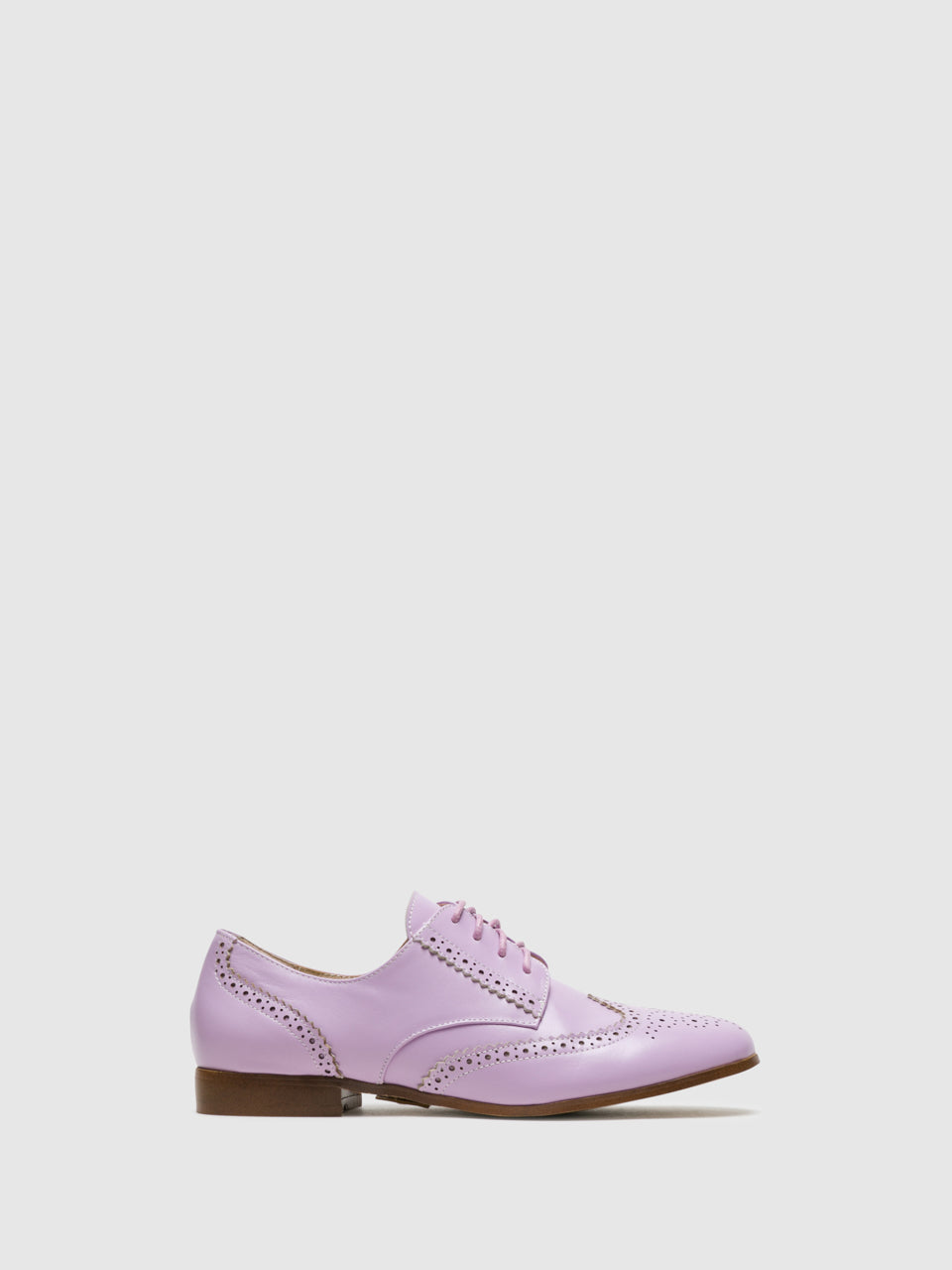 Yull Purple Oxford Shoes