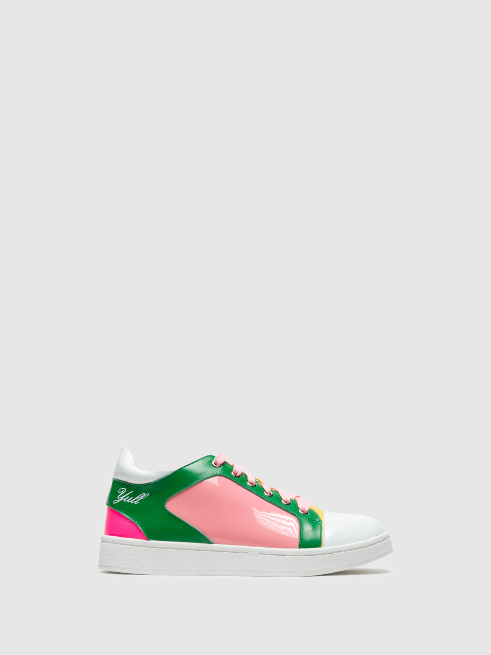 Yull Multicolor Lace-Up Trainers