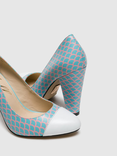 Yull Multicolor Round Toe Shoes