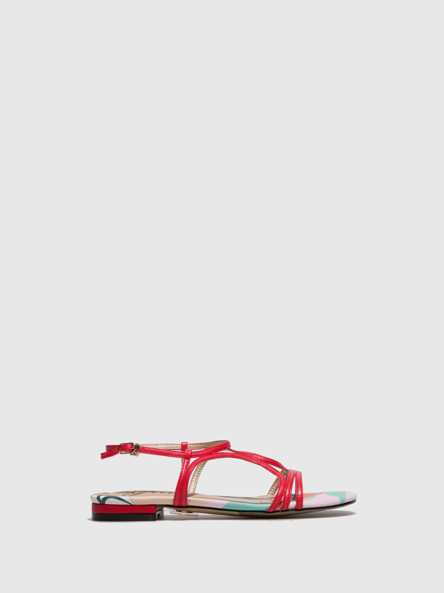 Yull Coral Strappy Sandals