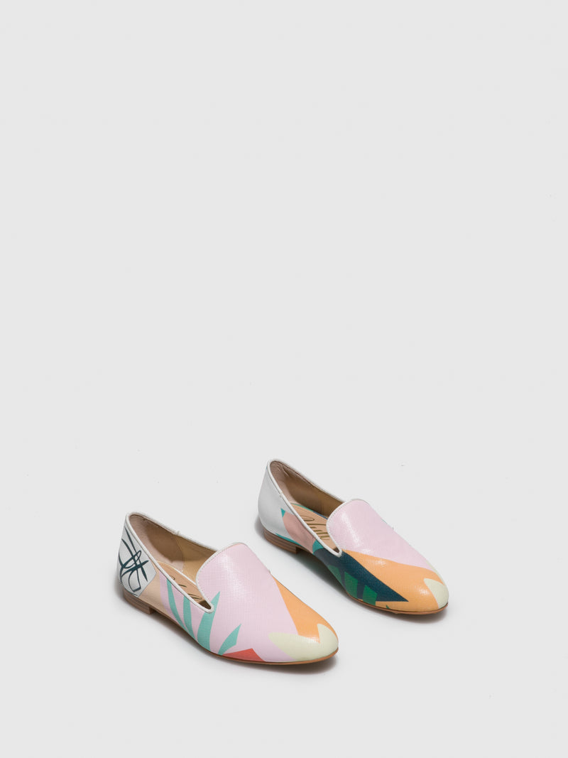 Multicolor Mocassins Ballerinas
