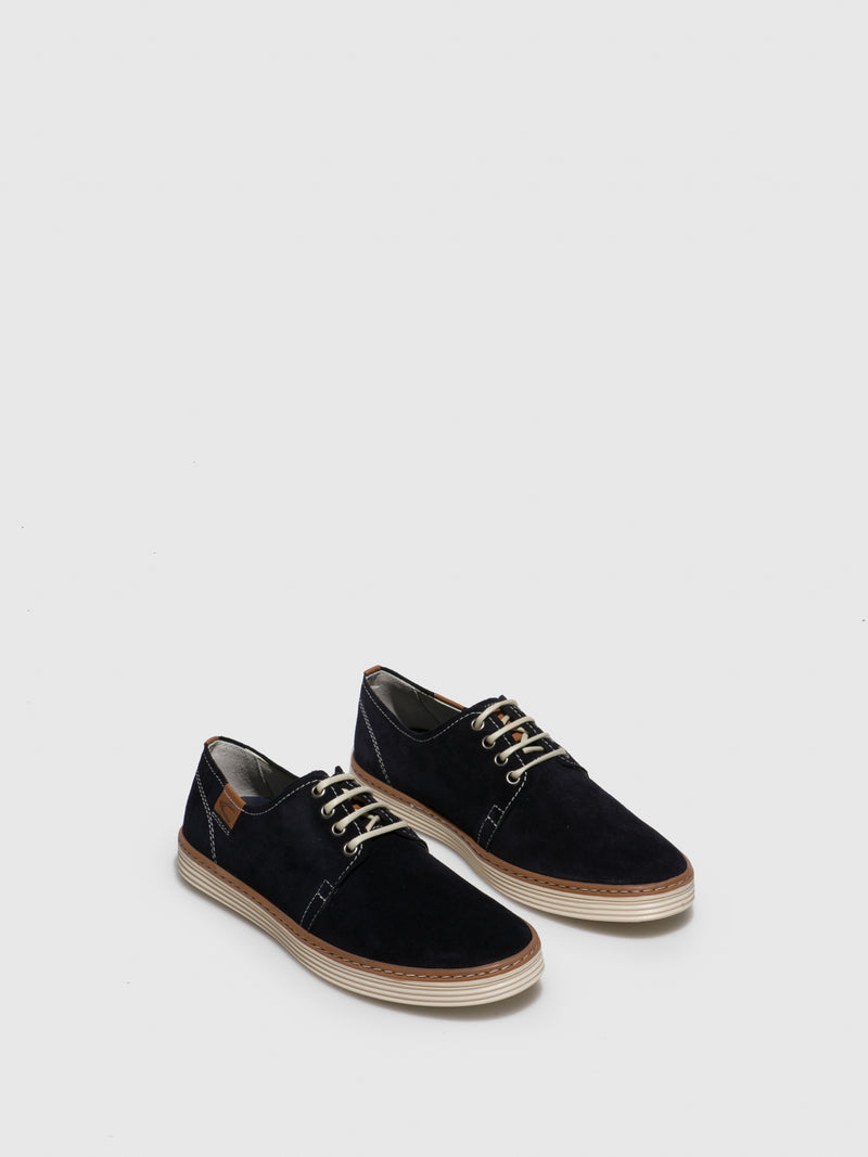 Camel Active Navy Lace-up Shoes
