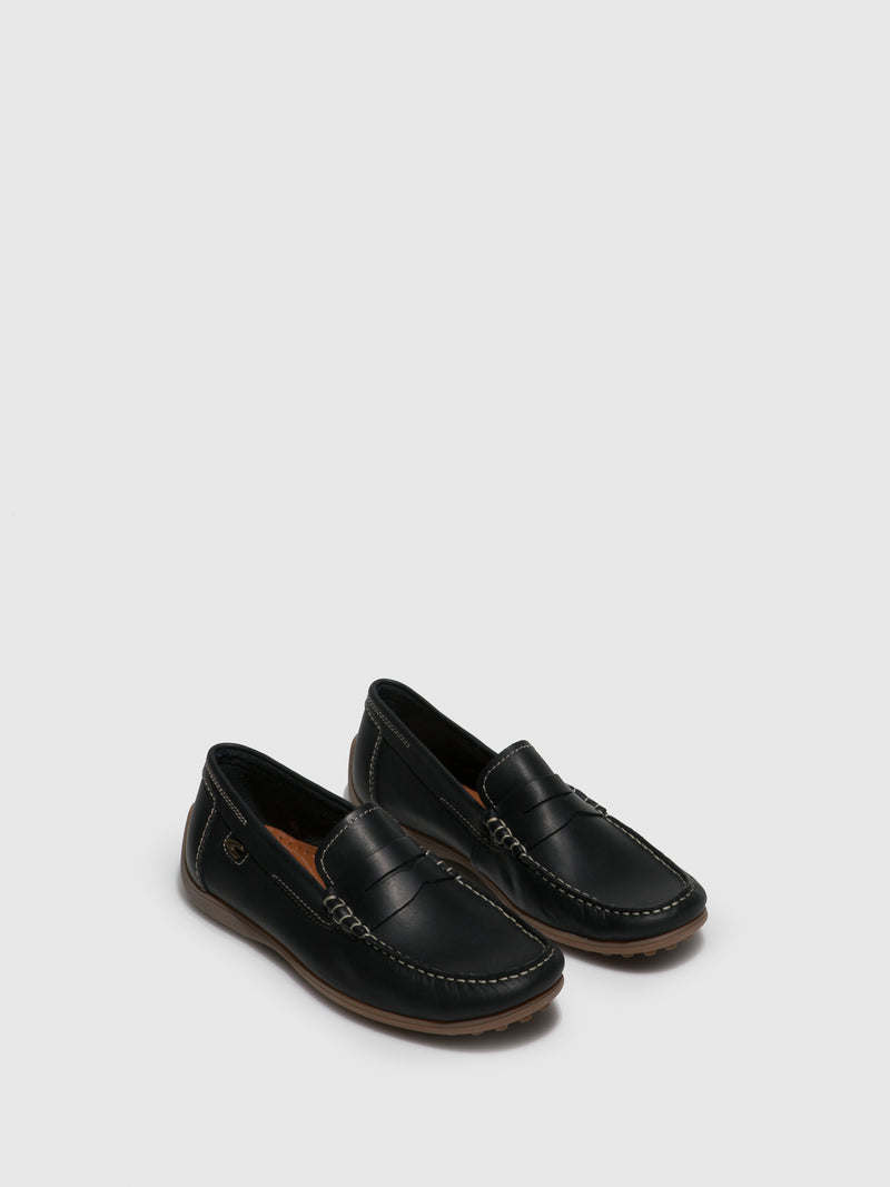 Camel Active Navy Slip-on Shoes