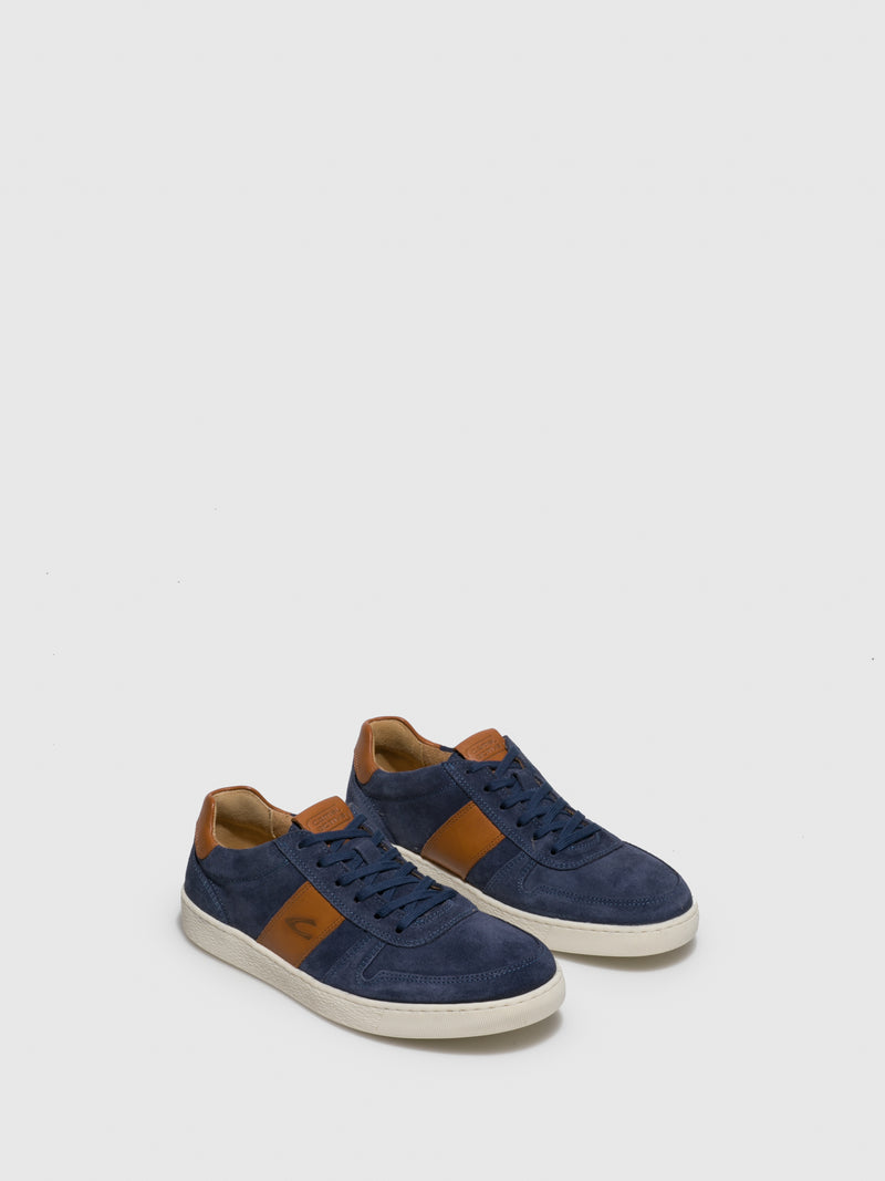 Camel Active Blue Lace-up Trainers