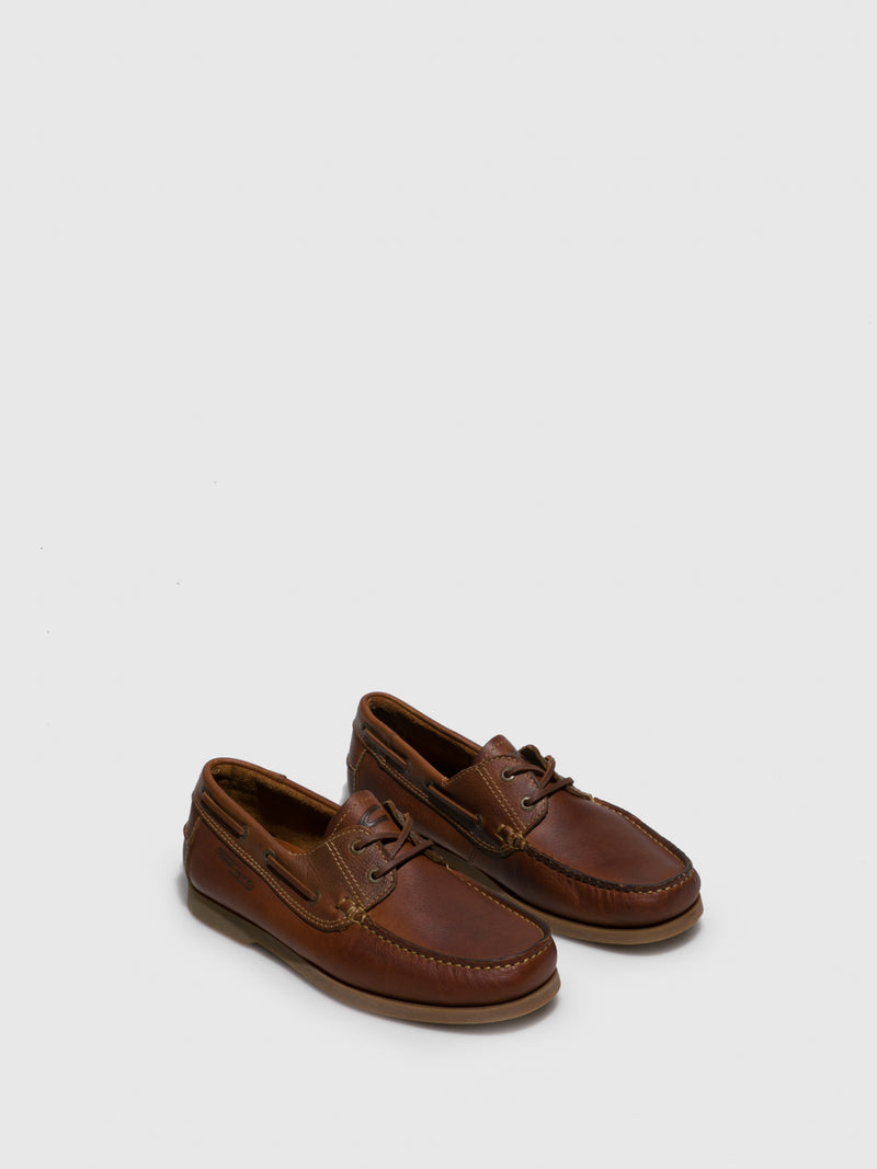 Camel Nautical Shoes