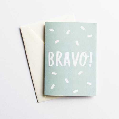Bravo! - Fun Congratulations Card in Italian