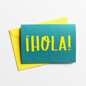 ¡Hola! - Greeting Card in Spanish