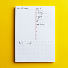 A5 To-Do List Notepad - English-Italian