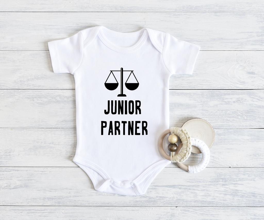 Junior Partner Onesie, Item 10002