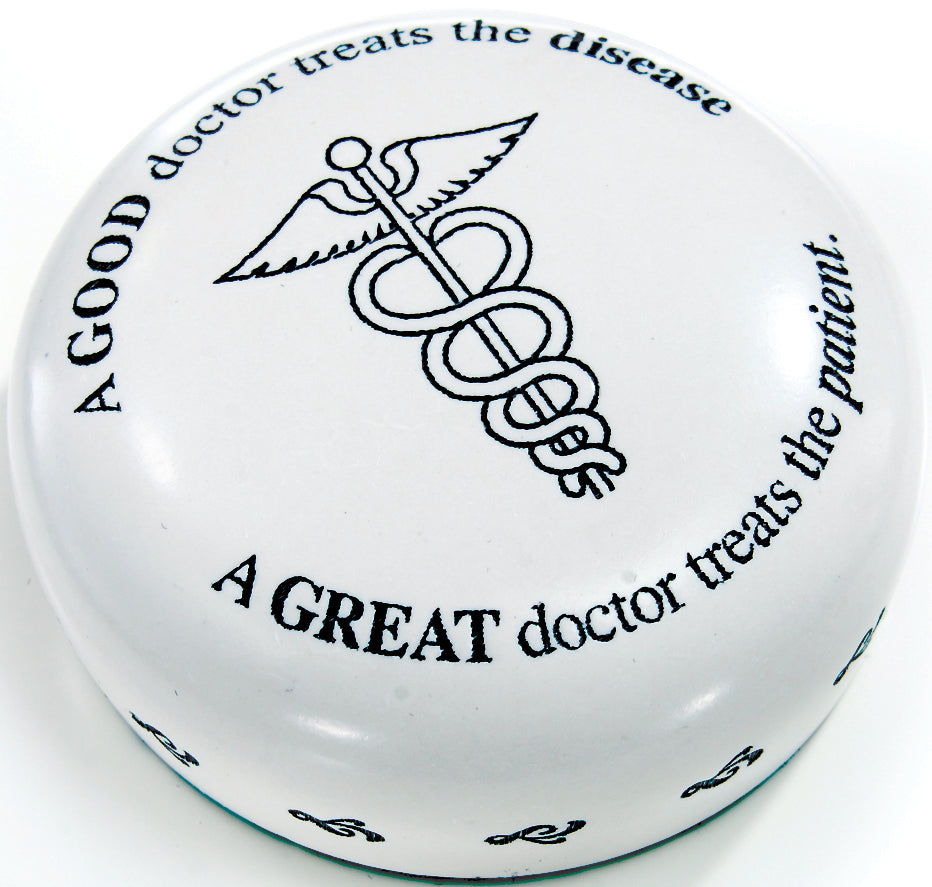 A GOOD DOCTOR PAPERWEIGHT - Item #1013