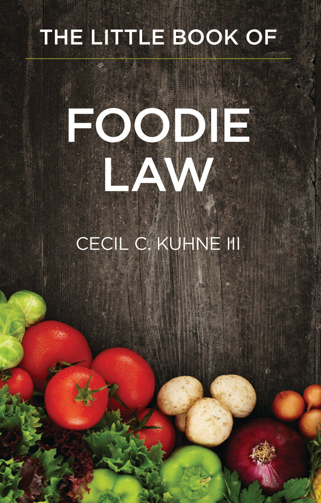 Books of Law- Little book of Foodie Law- Item#1939