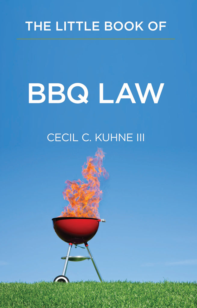 Books of Law- Little book of BBQ Law- Item#1953
