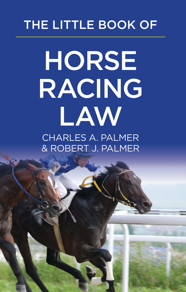 Books of Law- Horse Racing Law- Item#2176