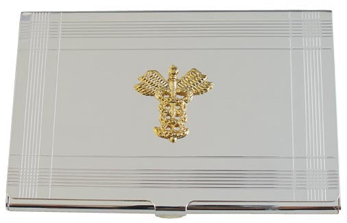 Legal or Medical Business Card Holder