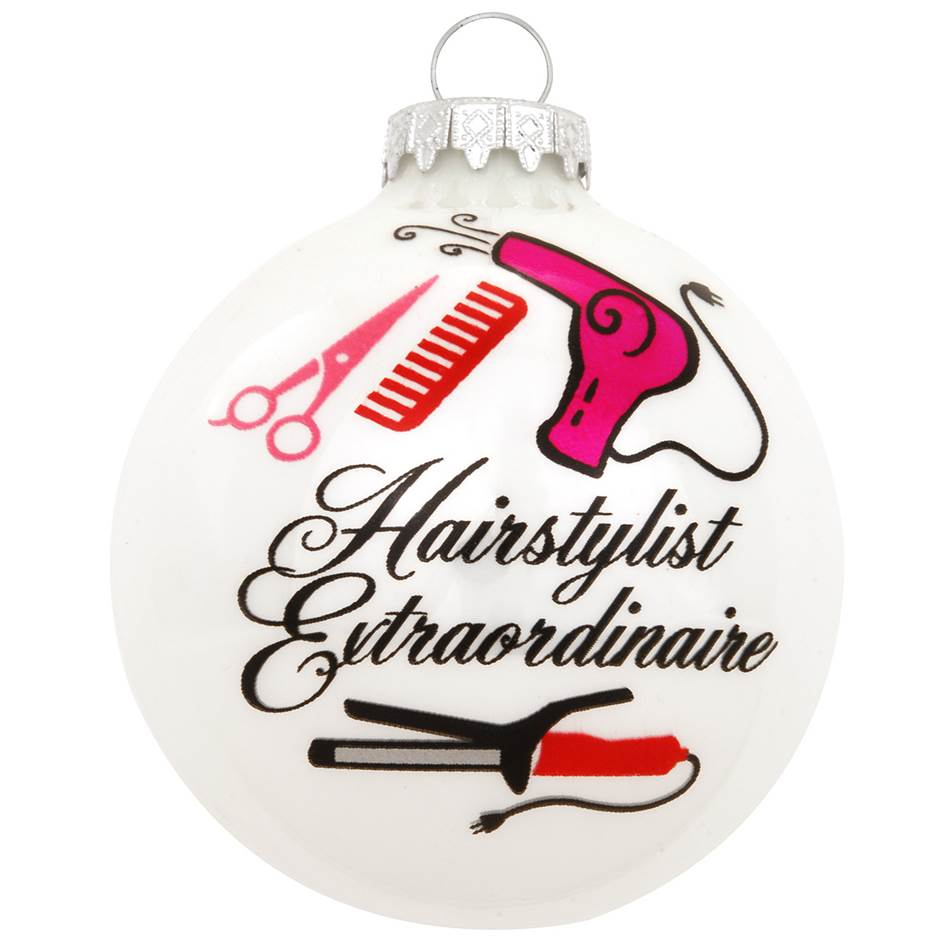 Hairstylist Extraordinaire Ornament- Item#2519