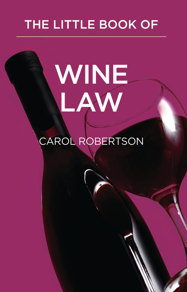 Books of Law- Little book of Wine Law Item#  2656