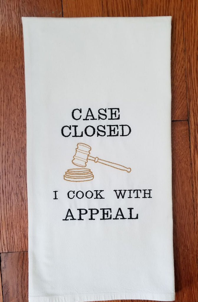 Apron with Scales of Justice for the Legal Professional! Item# 30010
