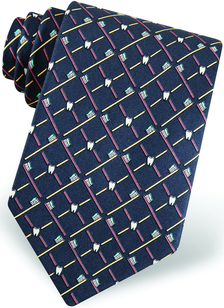 Dentist Silk Tie     Item #3262