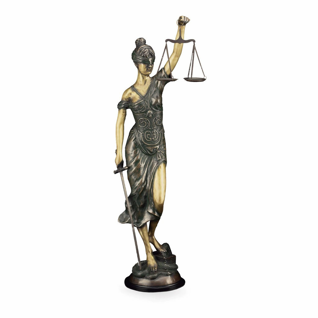 "Lady of Justice 39""- with Bronze Finish Item #3405"