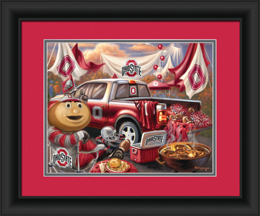 COLLEGE TAILGATE PRINTS - Item # 3650