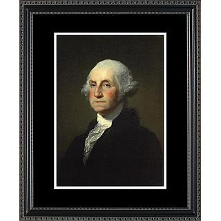 Historical Art- Presidential Portraits- George Washington- Item #4152F