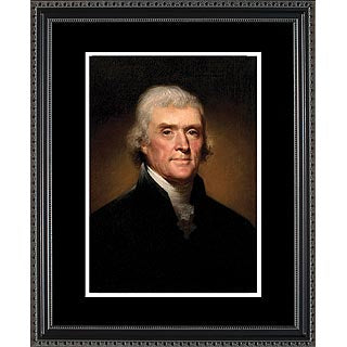Historical Art- Presidential Portraits- Thomas Jefferson- Item #4154F