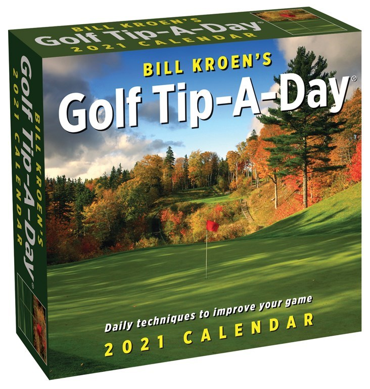 2021 Desk Golf Calendar -Tip A Day- Item #417921